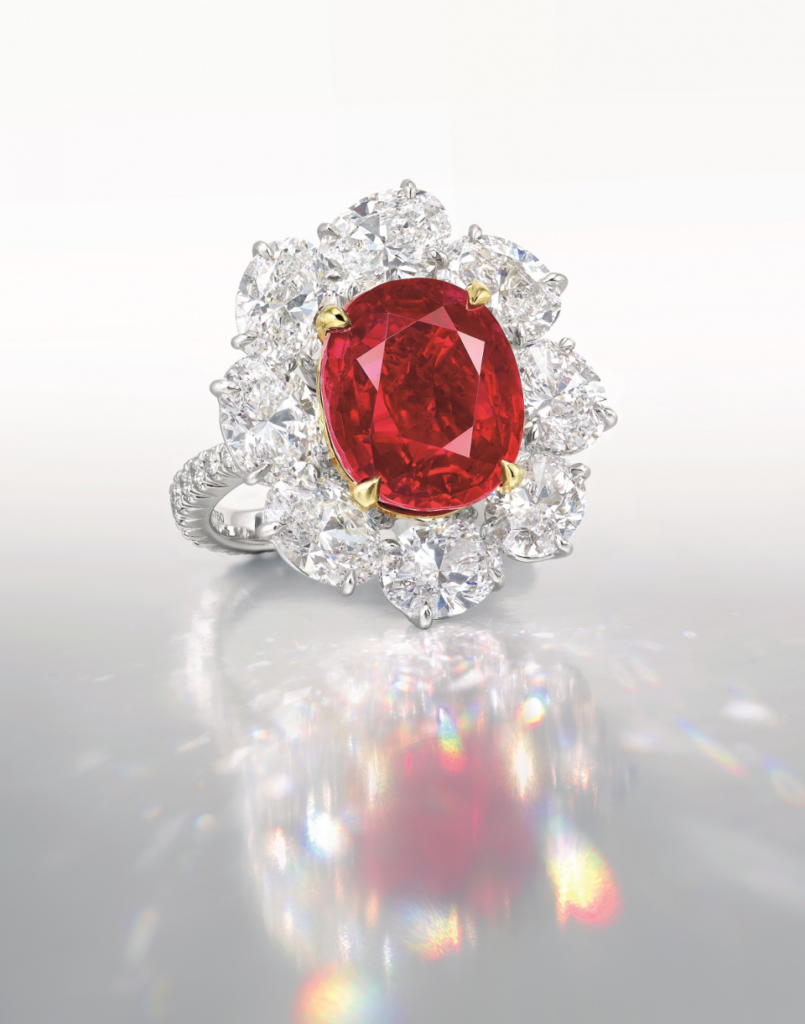 RARE 10-CARAT BURMESE PIGEON'S RUBY COULD FETCH $12.5 MILLION | Faidee