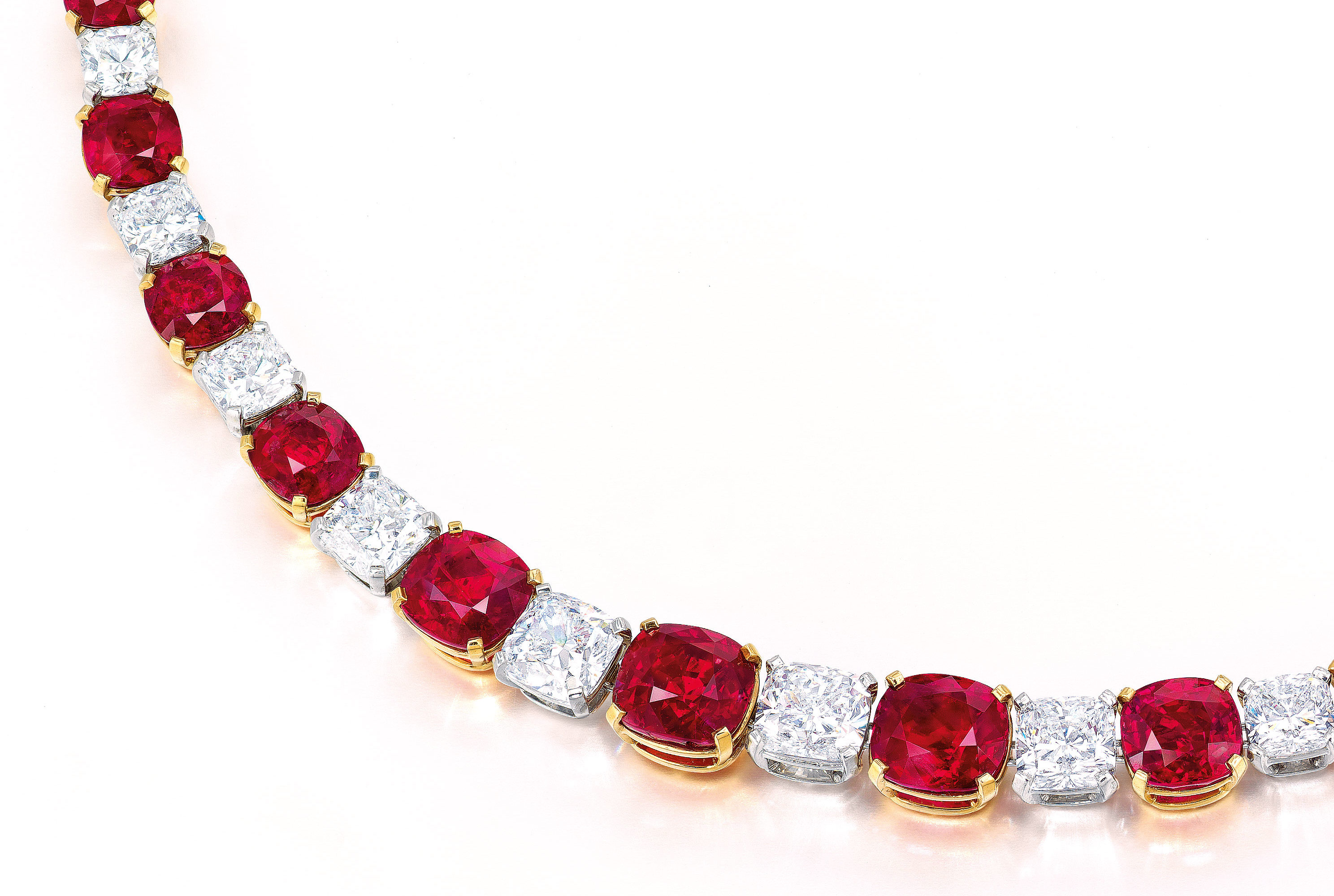 Mogok's fiery red necklace | Faidee