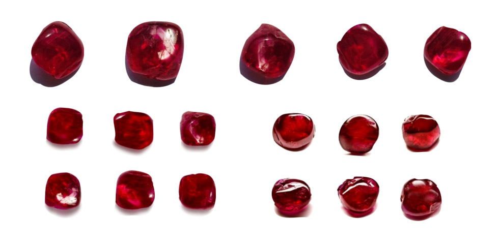THE MOGOK'S FIERY RED SET: RUBIES LIKE NOTHING YOU HAVE EVER SEEN | Faidee