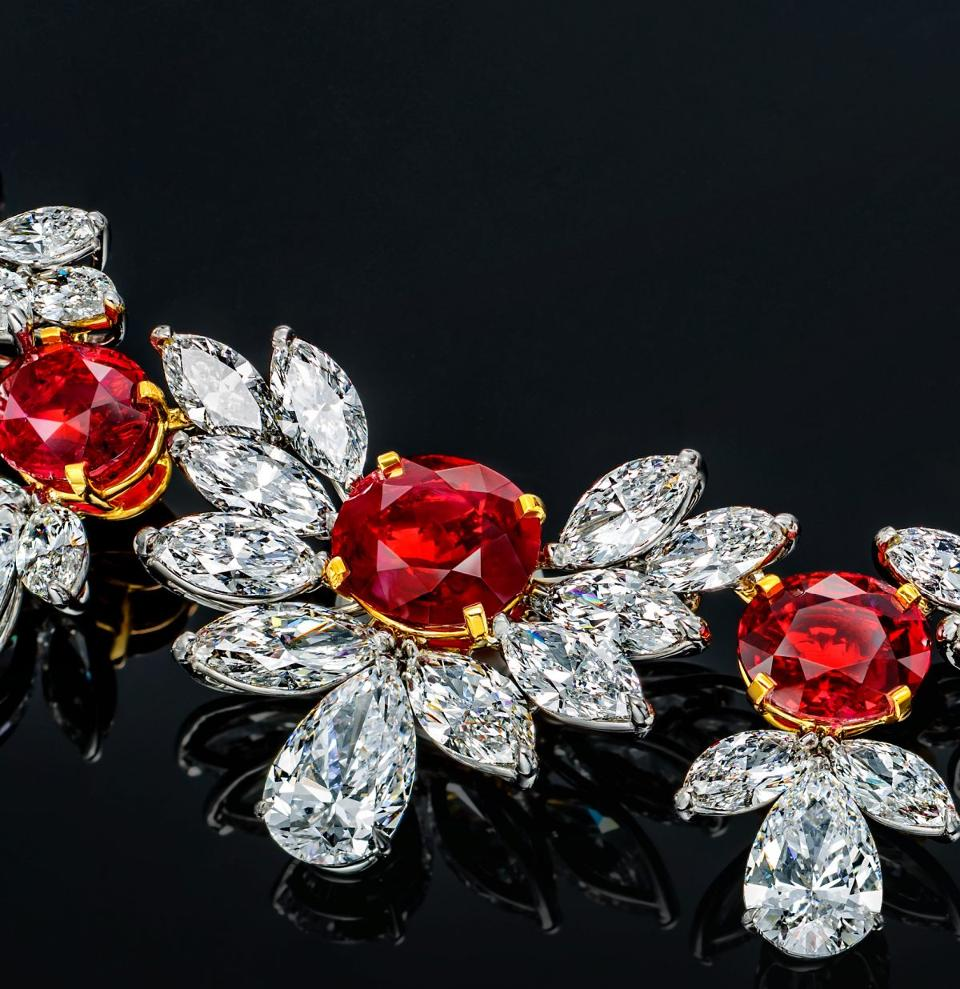 SAY HELLO TO THE $35 MILLION 'GRAND PHOENIX' RUBY NECKLACE | Faidee