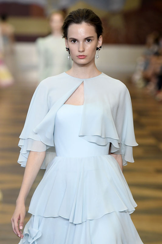 Ulyana Sergeenko couture show in Paris | Faidee