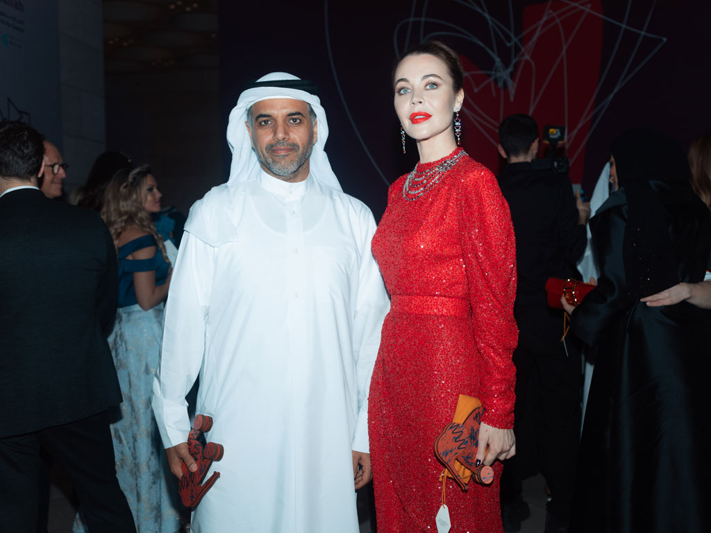 Raising fund for charity at the Love ball Arabia 2019 | Faidee